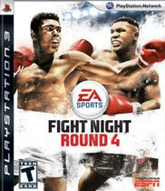 Jogo Fight Night Round 4 PS3