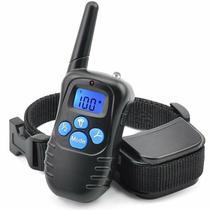 Coleira Eletronica M81 para Adestramento de Cachorro com Controle - Preto