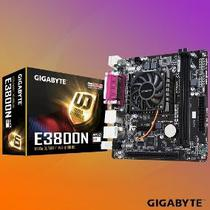 Placa Mãe Gigabyte E3800N Dual Core 1.3 Cpu Onboard