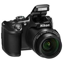 """Camera Fotografica Nikon Coolpix B-500 FHD Wi Fi/Bluetooth/Cmos 1/2.3"""" de 16.0MP - Preto"""