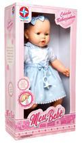 Boneca Estrela Meu Bebe 100 3100019 - Azul