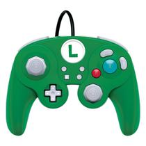 Controle para Nintendo Switch Wired Fight Pad Pro Luigi - (PDP-A-06534)