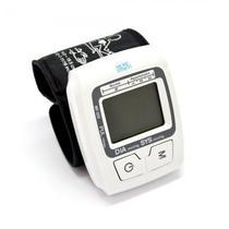 Medidor Pressao More Fitness MF-333 para Pulso com Tela LCD - Branco