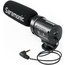 Microfone Saramonic Video c/Monitor Jack