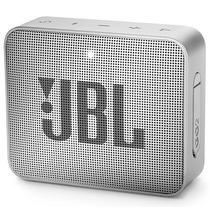 Caixa de Som JBL Go 2 com Bluetooth/Auxiliar Bateria de 730 Mah - Cinza