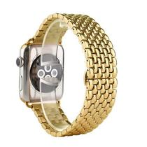 Pulseira 4LIFE de Aco Inoxidavel Dragon para Apple Watch 38MM - Dourado