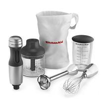 Kitchenaid Hand Blender 3 Vel. KHB2351CU Prata