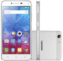 "Smartphone Lenovo Vibe K5 A6020A40 16GB Lte Dual Sim Tela 5.0""HD Cam.13MP+5MP-Prata"