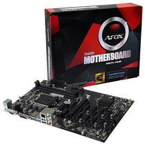Placa Mãe Afox LGA1151 IB250-BTC VGA/DVI/DDR4