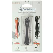 Chaveiro Compacto Snow Lizard para Ate 2-10 Chaves - Prata