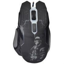 Mouse Gaming BAK BK-MX97 com Fio - Preto
