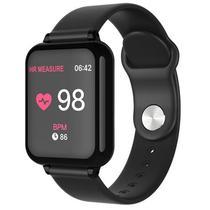 Smartwatch 4LIFE Fit Bit B57 para Atividades Fisicas com Bluetooth - Preto