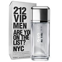 Perfume Carolina Herrera 212 Vip Men Eau de Toilette Masculino 200 ML