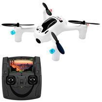 Mini Drone Hubsan X4 H107D+ FPV Via Wi-Fi 2.4GHZ 4 Canais/6 Eixos com Camera HD - Branco