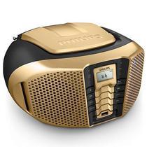 Aparelho de Som Philips PX3 PX3225GT/ 55 USB/ AM/ FM/ Bluetooth 5W RMS Bivolt Preto/ Dourado