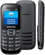 """Celular Samsung E1205Y Tela de 1.52"""" 900/1800 Preto"""