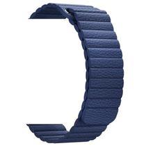 Pulseira 4LIFE de Couro Loop para Apple Watch 38MM - Azul Escuro