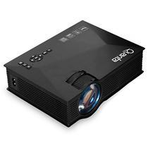 Projetor Quanta QTPRO510 1.200 Lumens com Wi-Fi/HDMI/USB Bivolt - Preto