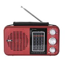 Radio BAK BK-811BT SD/USB Vermelho 220V