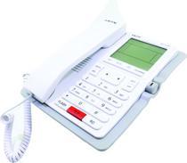 Telefone Fixo Mox MO-TL281 com Fio - Bina - Viva Voz - Branco