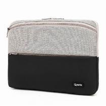 Capa para Notebook Quanta QTCAP133 com Bolo 13.3 Cinza e Preto
