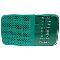 Radio Toshiba TX-PR20 FM/AM Verde/Branco