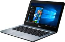 Notebook Asus X441BA-CBA6A A6/ 4GB/ 500HD/ 14P/ W10 Prata