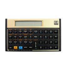 Calculadora HP12 C Dourado Port/Esp