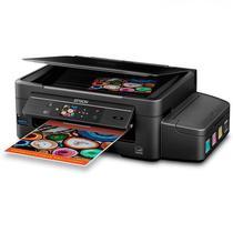 Impressora Multifuncional Epson Ecotank L475 (Impressao,Copia,Scanner) Wi-Fi 2V - Preto