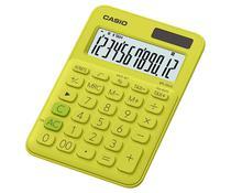 Calculadora Compacta Casio MS-20UC - Amarelo