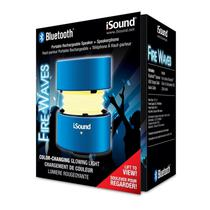 Caixa de Som Isound Fire Waves Azul