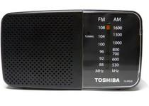 Radio Portatil Toshiba PR20S - AM - FM - Preto