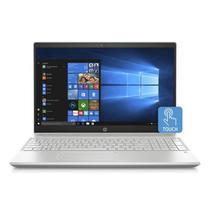 "Notebook HP Pavilion i5-8250U 1.6GHZ/ 8GB/ 1TB + 16G Optane/ 15.6""HD/ Touch / Windows 10/ Ingles/ Dourado/ Prata - 15-CS0051WM"