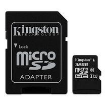 Cartao de Memoria Micro SD Kingston SDCS de 32GB MSDHC-I - Preto