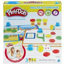 Massageador de Modelar Hasbro Play-Doh Numeros e Contas B3406
