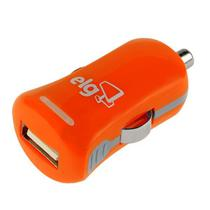 Carregador Veicular USB Elg CC1SLR 1 Saida USB - Laranja
