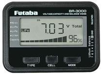 Futaba BR3000 Battery Checker Liion Lipo Life Nicd Nimh FUTM4166