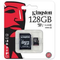 Cartao de Memoria Kingston Micro SD 128GB 80MB SDC10