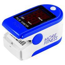 """Oximetro More Fitness MF-415 com Tela 1.3"""" - Branco/Azul Escuro"""
