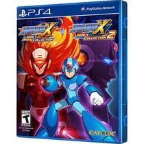 Jogo Mega Man X Legacy Collection 1 e 2 PS4