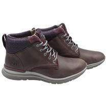 Bota Caterpillar Starstruck P310665 Feminina No 8 - Marrom/Bordo
