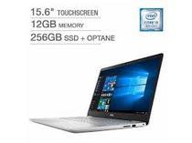 """Notebook Dell I5584-5360SLV-Pus i5-8265U 1.8GHZ/ 12GB/ 256GB SSD + 16GB Optane/ 15.6""""FHD/ Touch/ Windows 10/ Ingles Prata"""