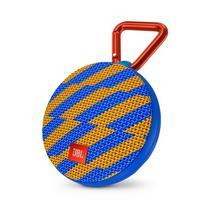 Caixa de Som JBL Portatil Clip 2 Azul/Amarelo