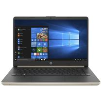 "Notebook HP 14-DQ1038WM 14"" Intel Core i3-1005G1 - Dourado"