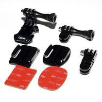 Acessorio para Camera Sport Quanta QTSCA-525 Kit Suporte p/Capacete