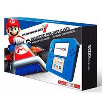 Console 2DS Azul com Mario Kart 7