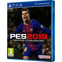 Jogo PS4 Pro Evolution Soccer 2019 (Pes)