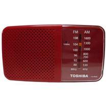 Radio Toshiba TX-PR20 FM/AM Vermelho/Branco