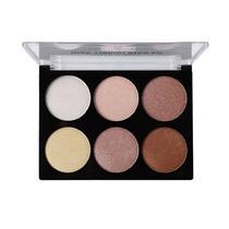 Paleta de Iluminadores Miss Rose Glow Kit 6 Cores