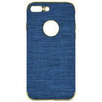 Capinha para iPhone 7/8 Plus Wesdar - Azul Clara/Dourada